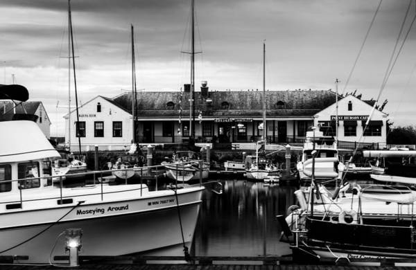 Port Townsend Photograph - Shanghai Restaurant At Port Townsend by TL  Mair