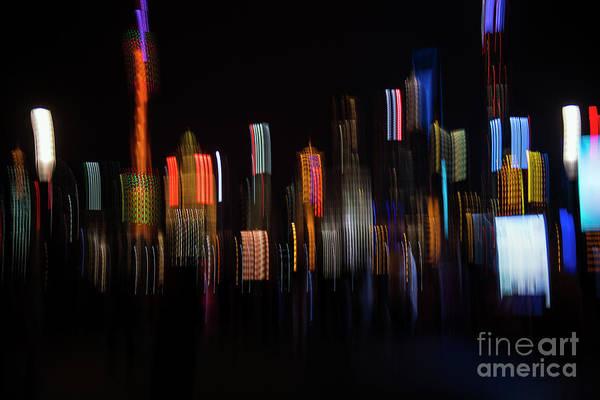 Photograph - Shanghai Skyline  by David Lichtneker