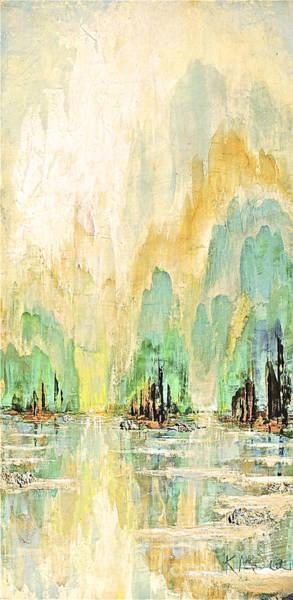 Painting - Shangrala Bay II by Kaata    Mrachek