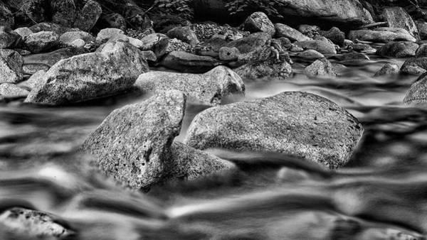 Shannon Falls Wall Art - Photograph - Shannon Creek -bw by Stephen Stookey