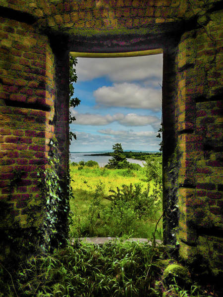 Photograph - Shannon Estuary From Abandoned Paradise House by James Truett