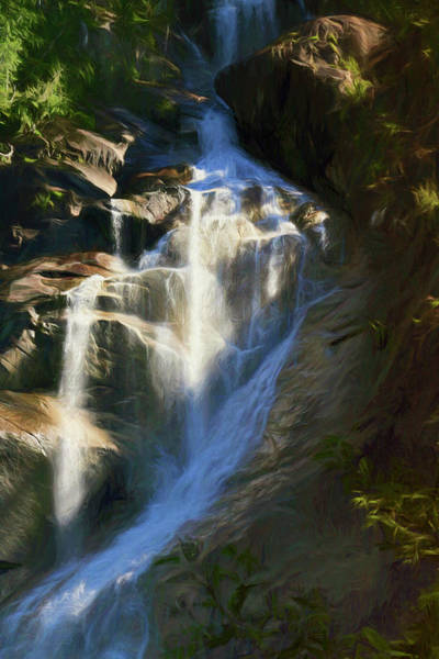 Photograph - Shannon Falls  Jewel Of Squamish, British Columbia  by Ola Allen