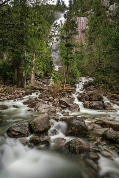 Photograph - Shannon Falls Of Squamish by Pierre Leclerc Photography