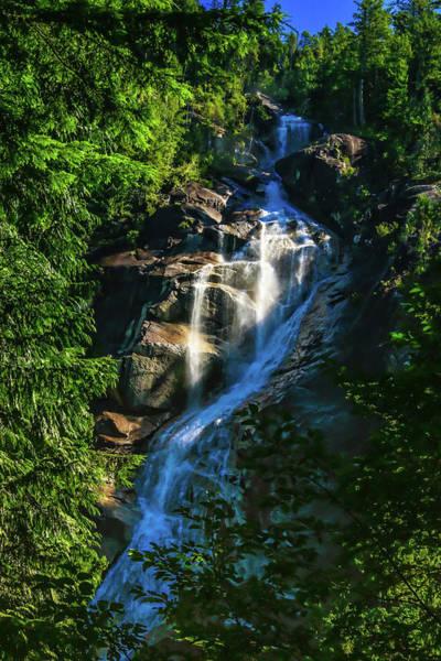 Photograph - Shannon Falls Squamish, British Columbia. by Ola Allen