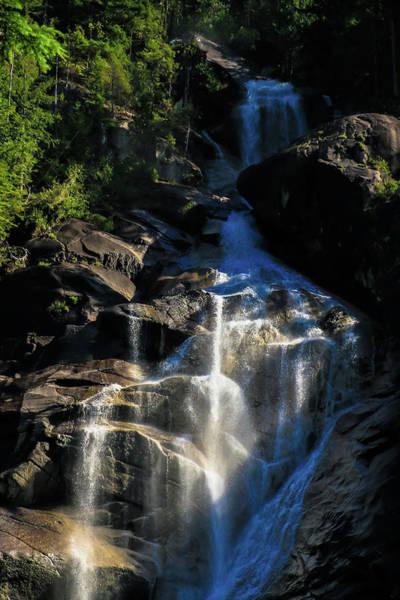 Photograph - Shannon Falls - Shannon Falls Provincial Park by Ola Allen
