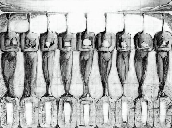 Drawing - . by James Lanigan Thompson MFA