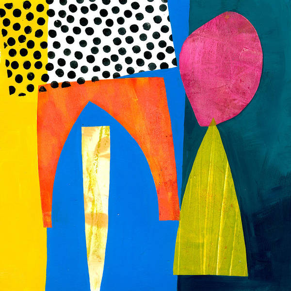 Wall Art - Painting - Shapes 2 by Jane Davies