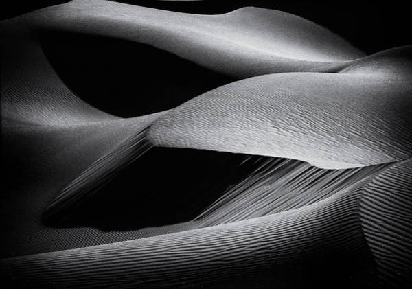 Sand Wall Art - Photograph - Shapes Of The Dunes by Simon Chenglu