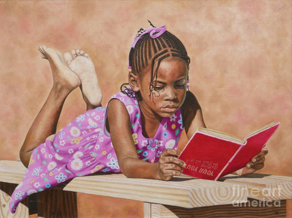 Painting - Shaquel by Nicole Minnis
