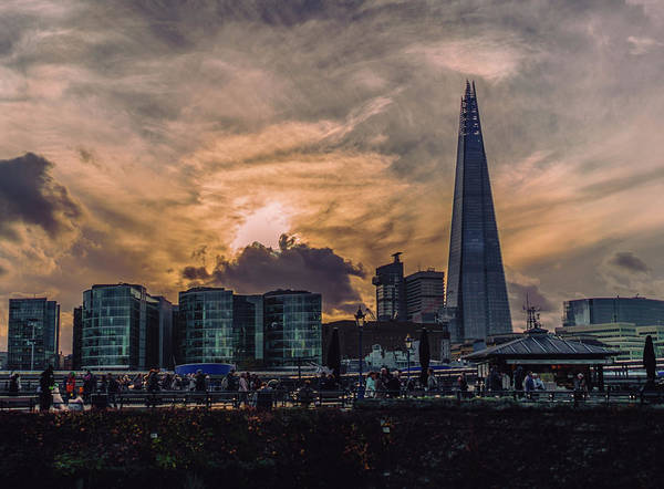 Photograph - Shard Sunset by Nisah Cheatham