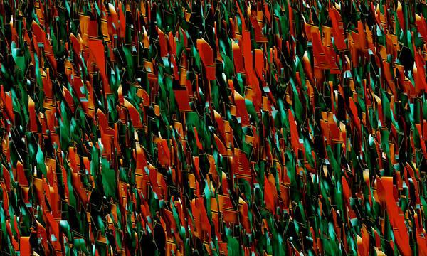 Broken Glass Digital Art - Shards Of Glass by Evelyn Patrick
