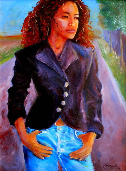 Painting - Sharice by Jason Reinhardt