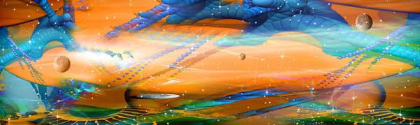 Phish Digital Art - Sharin' In The Groove by Phil Sadler