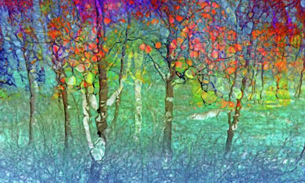 Elation Digital Art - Sharing Colours And Dreams by Tara Turner