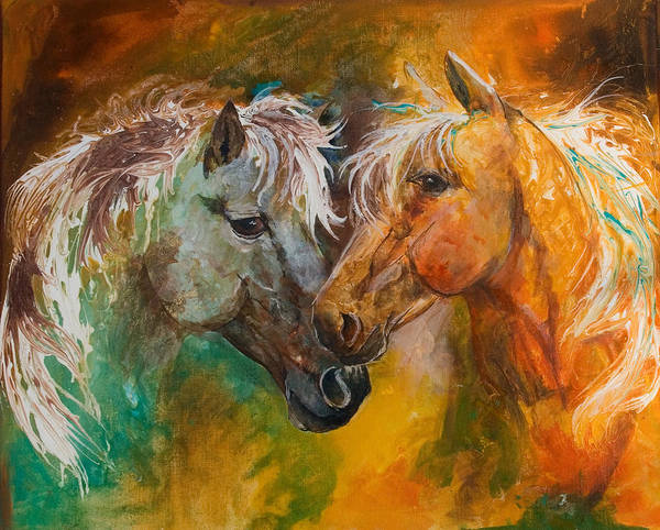 Painting - Sharing Secrets by Sherry Shipley