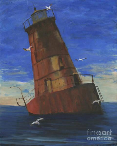 Wall Art - Painting - Shark S Island Md  by Gloria Condon