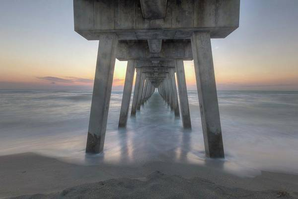 Photograph - Sharky's Pier by Paul Schultz
