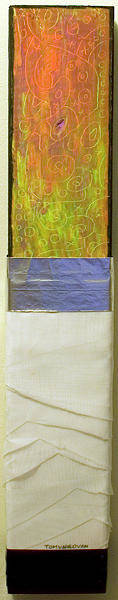 2x4 Wall Art - Mixed Media - Sharp Fabric by Tomungovan Assemblage Artist