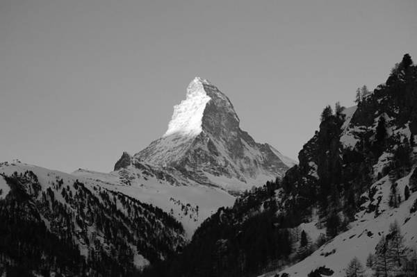 Wall Art - Photograph - Sharp Matterhorn by Leslie Thabes