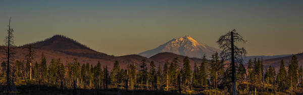 Photograph - Mt Shasta From Hat Creek by Albert Seger