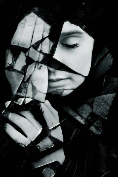 Gothic Photograph - Shattered by Cambion Art