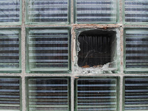 Photograph - Shattered Square by Christopher Brown