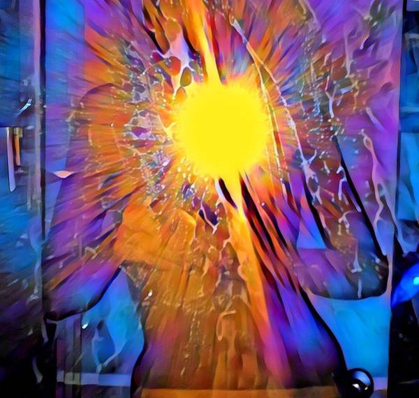 Abstract Digital Art - Shattering Perceptions   by Gina Callaghan