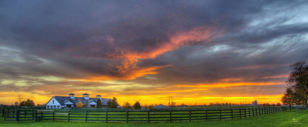 Photograph - Shawanee Sunset by Sam Davis Johnson