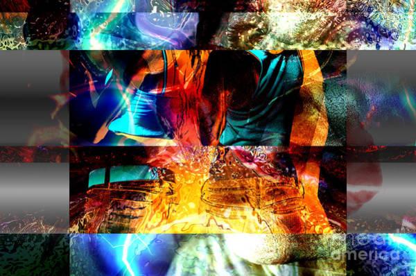 Digital Art - She Got Back by John Rizzuto