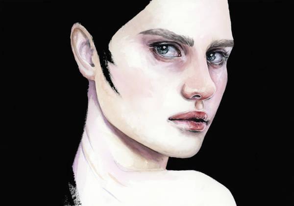 Painting - She by Zapista Zapista
