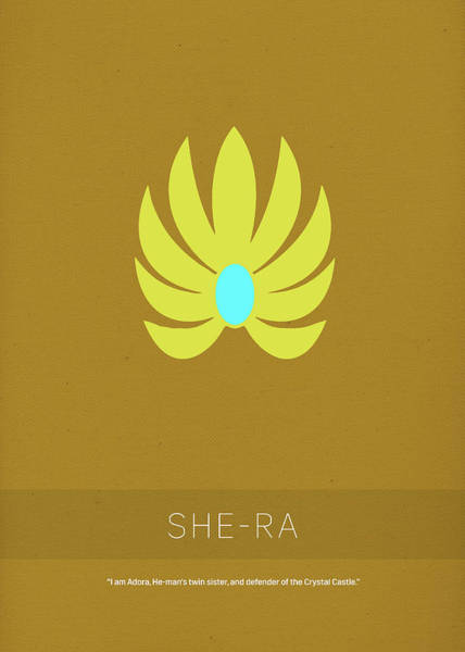 She Wall Art - Mixed Media - She-ra Princess Of Power My Favorite Tv Shows Series 014 by Design Turnpike