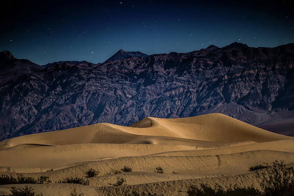 Death Valley National Park Photograph - She Sleeps Under The Stars by Peter Tellone