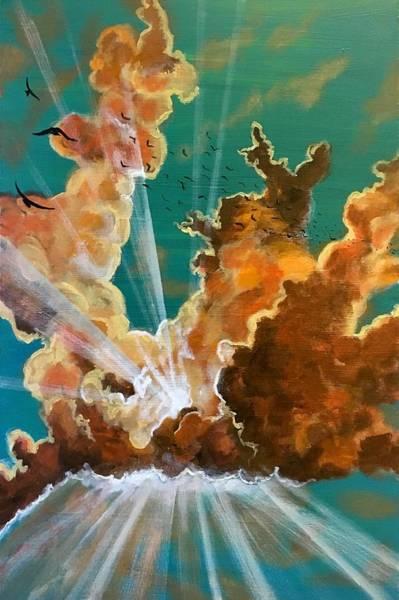 Painting - She Soars by Joel Tesch