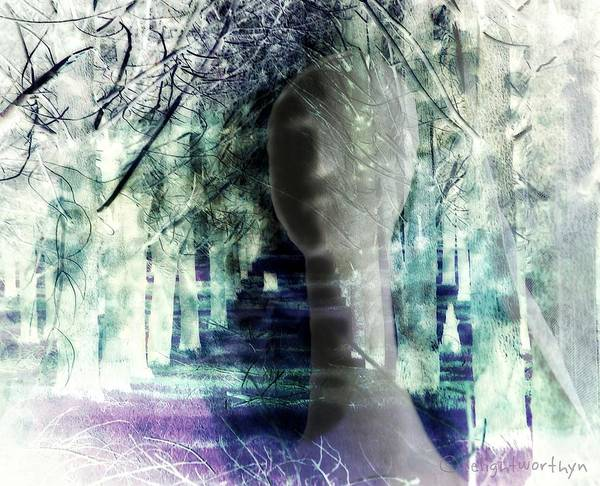 Digital Art - She Thought She's Never Be Alone Again by Delight Worthyn