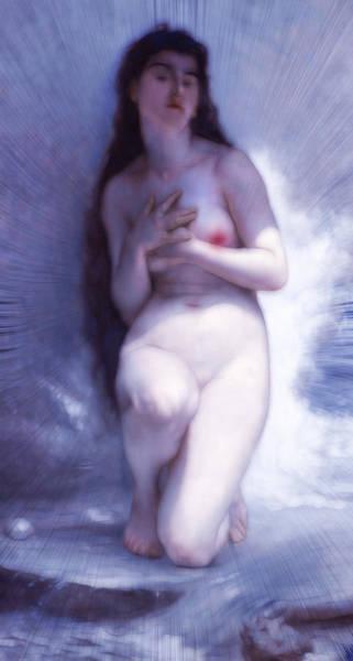 She Mixed Media - She Was But A Dream by Georgiana Romanovna