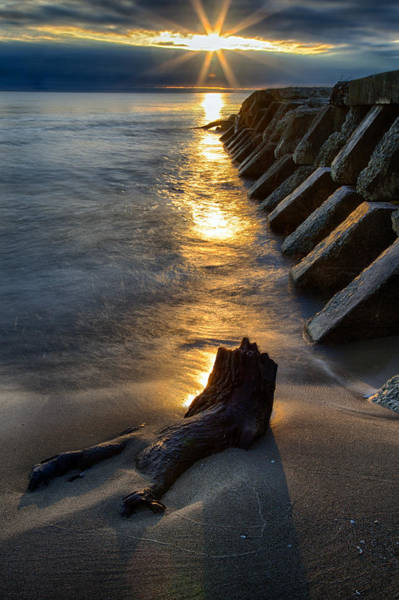 Photograph - Sheboygan Jetty 2 by CA  Johnson
