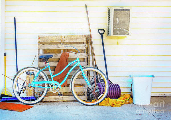 Photograph - Shed Barn Bicycle by Craig J Satterlee