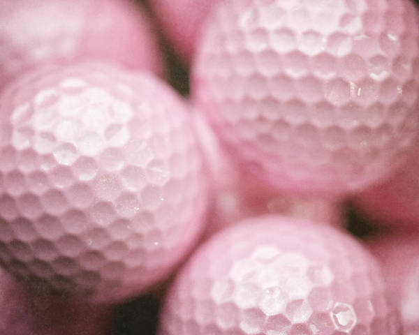 Breast Cancer Awareness Wall Art - Photograph - She'd Rather Be Golfing by Lisa Russo
