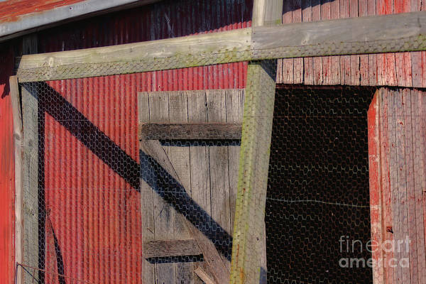 Photograph - Shed Shadows by Karen Adams
