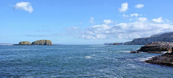 Photograph - Sheep Island Viewed From Ballintoy Harbour by Colin Clarke