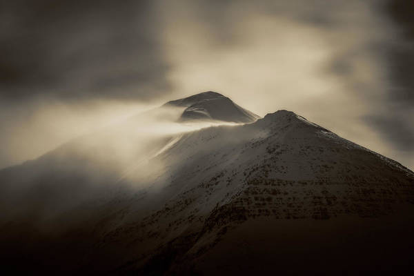 Photograph - Sheep Mountain by Whit Richardson