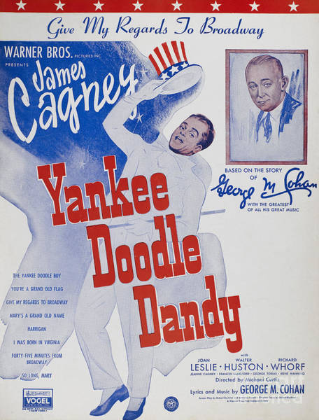 Photograph - Sheet Music Cover, 1942 by Granger