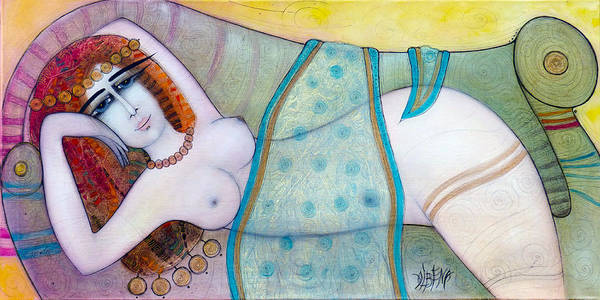 Wall Art - Painting - Sheherazade by Albena Vatcheva