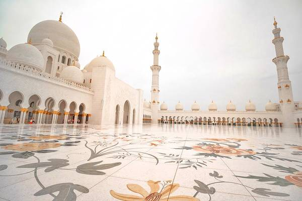 Photograph - Sheikh Zayed Mosque by Mike Dunn