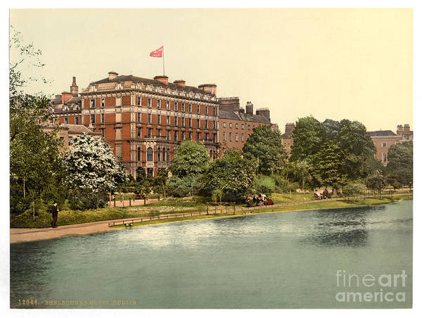 Painting - Shelbourne Hotel Dublin by Celestial Images