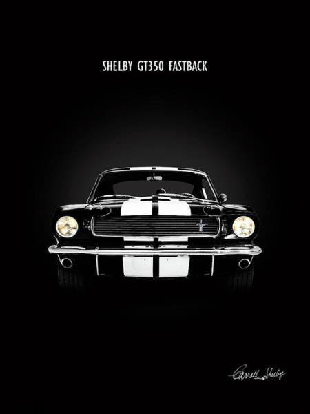 Wall Art - Photograph - Shelby Gt350 Fastback by Mark Rogan
