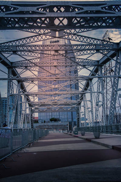 Wall Art - Photograph - Shelby Street Bridge by Art Spectrum