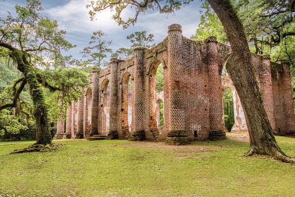 Wall Art - Photograph - Sheldon Church Ruins by Drew Castelhano