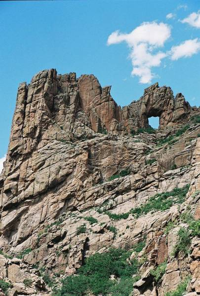 Photograph - Shelf Road Rock Formations by Anita Burgermeister