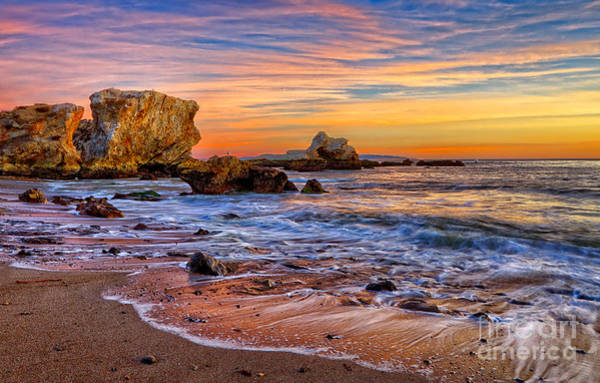 Photograph - Shell Beach Sunset by Beth Sargent